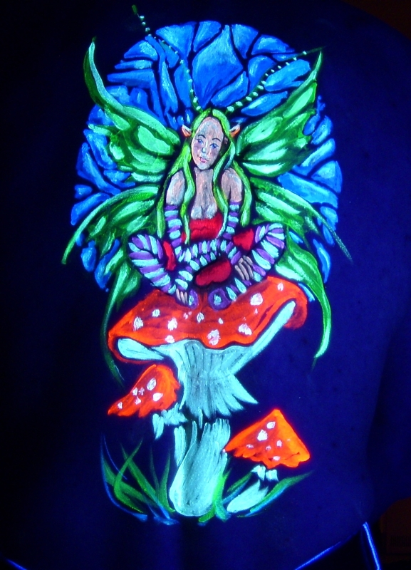 UV-painting Elfe